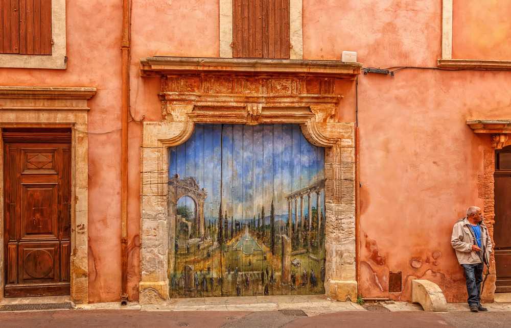 Roussillon  Wall