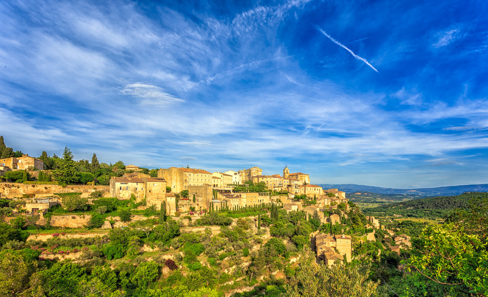 Summer Afternoon in Gordes