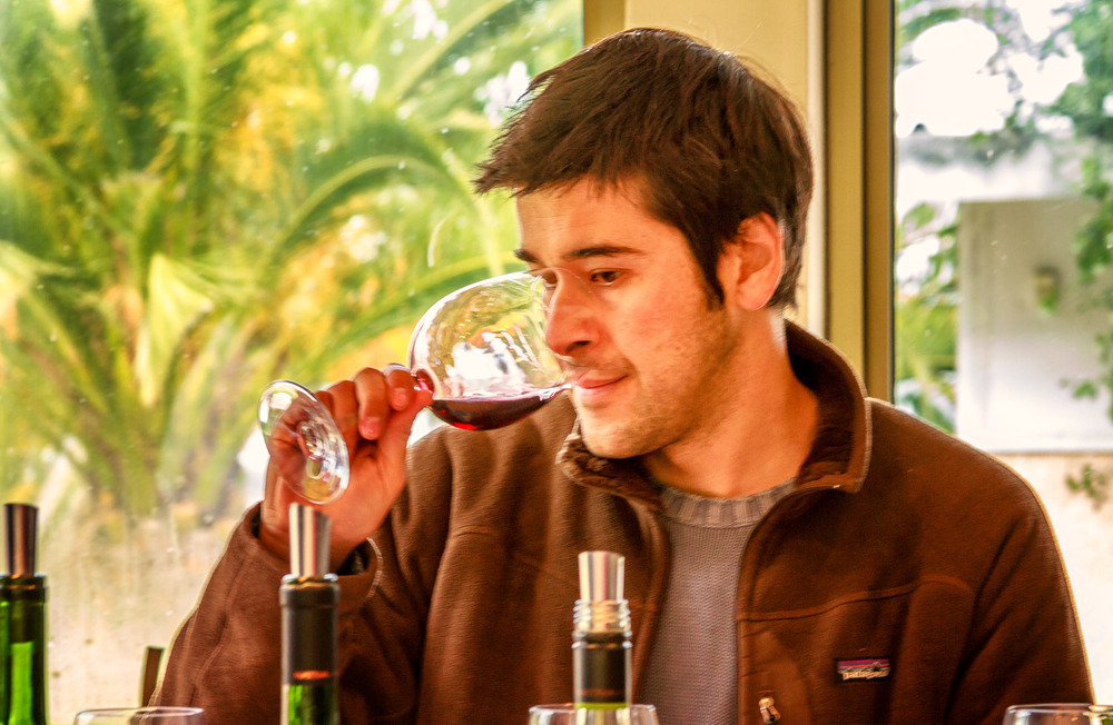 Nativa winemaker Felipe Ramirez