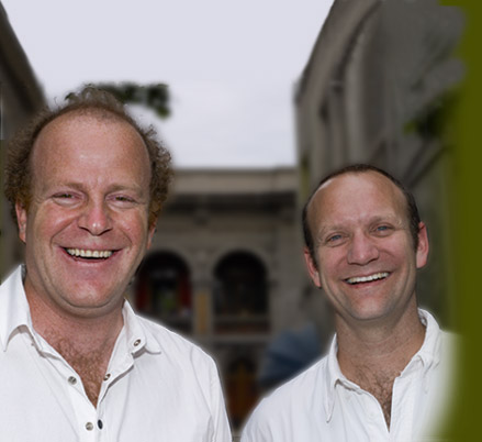Polkura founders Sven Bruchfeld (left) and Gabriel Muñoz (right)  Photo credit: Polkura Winery