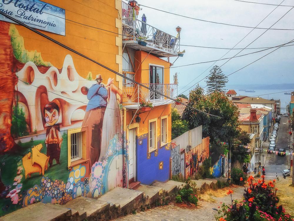 Valparaiso Wall