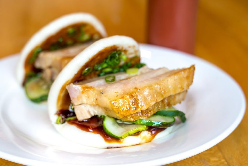 The Momofuko Pork Bun - Legend on a Plate