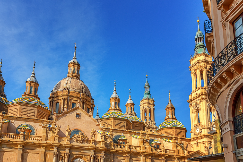 The Basilica of Our Lady of the Pillar in Zaragoza