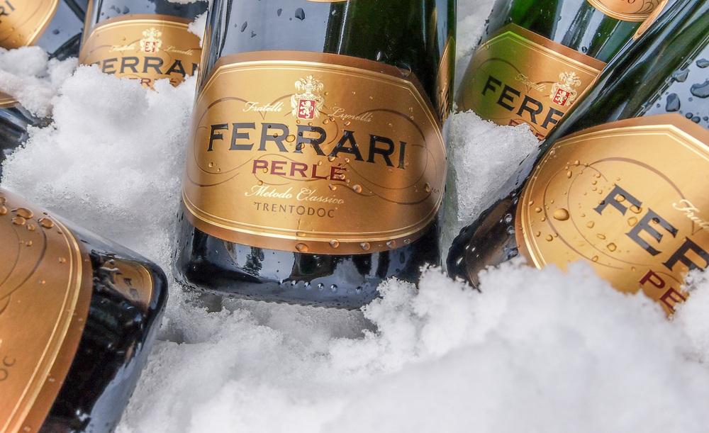 Ferrari Perlé, ready to pour, ready to evoke memories (Photo: Ferrari Trentodoc)