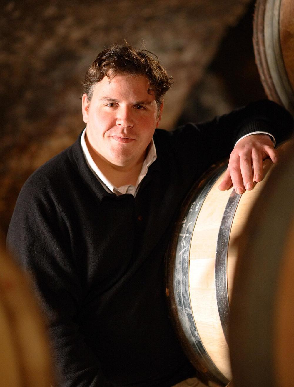 Winemaker Thibault Liger-Belair (PHOTO: domaine thibault liger-belair)
