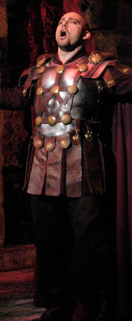 "Giancarlo Monsalve as Polione in the FGO production of ""Norma"""