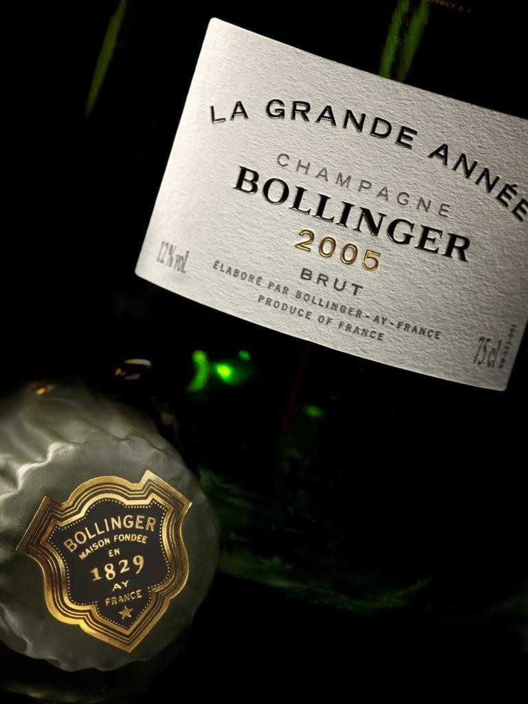 Bollinger 2005 is the current release from the prestigious Champagne house, but this week, they announced several older vintages (Photo: Bollinger)