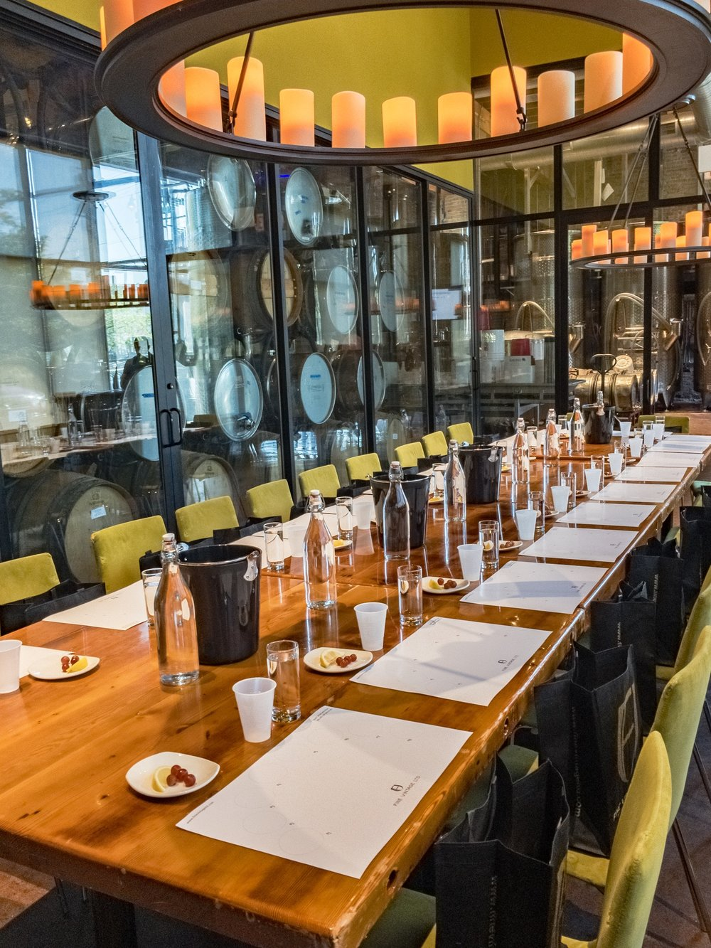 The Barrel room at City Winery in Chicago (Photo: (c) Lyn Farmer)