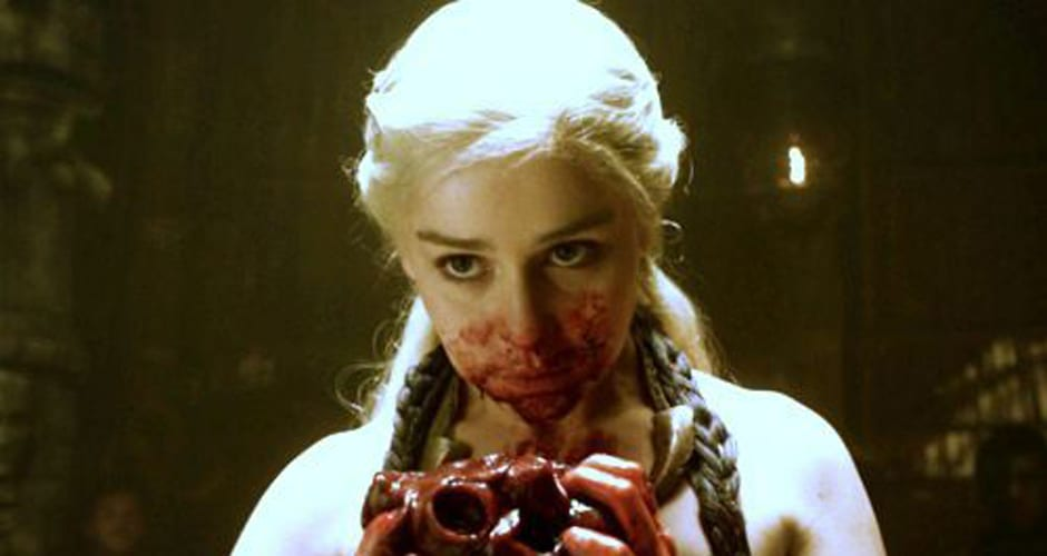 Daenerys and the horse heart