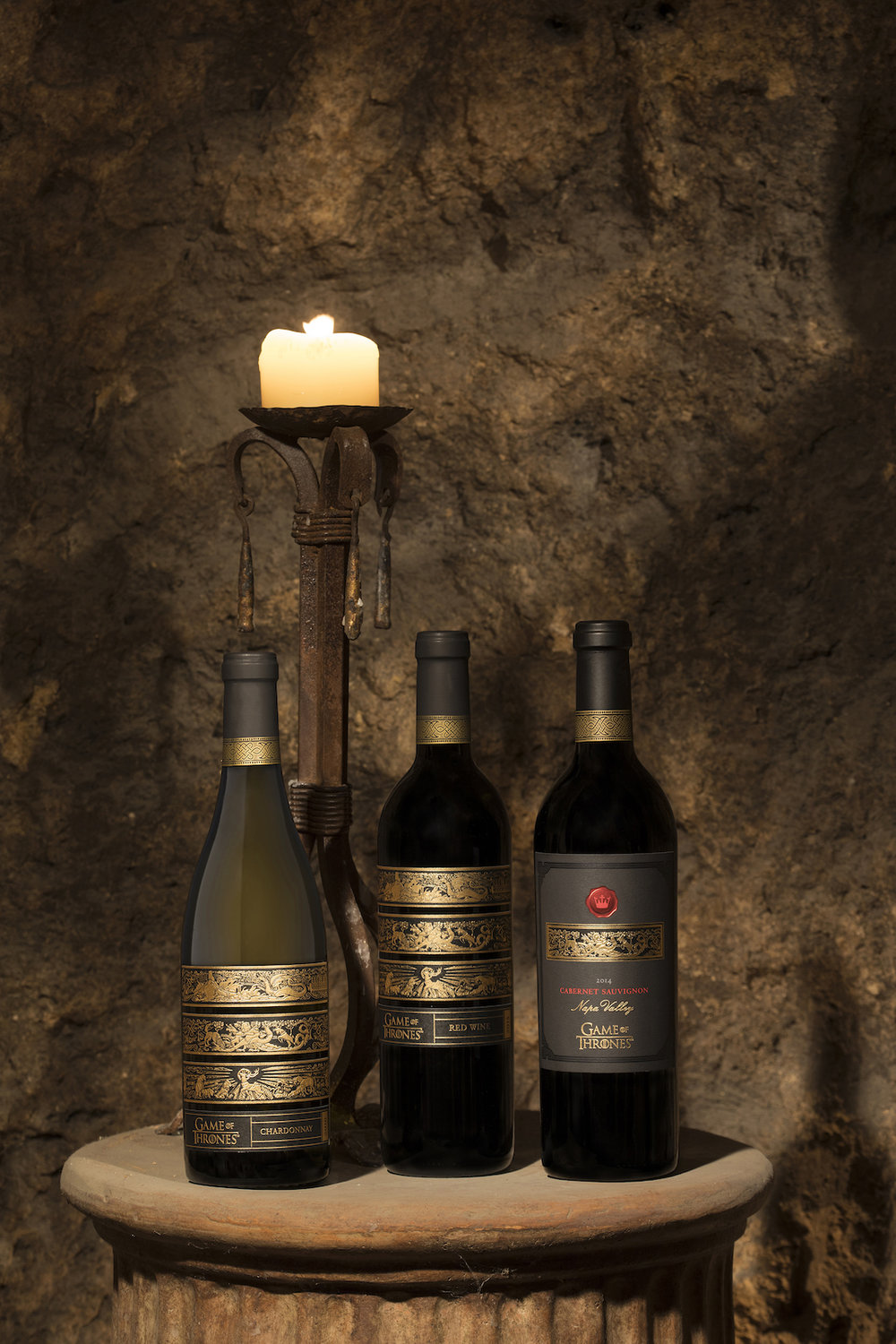 The just released trio of Game of Thrones wines from the western kingdom of California.