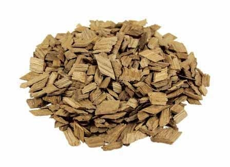 Chips of toasted French oak sold to home winemakers and brewers
