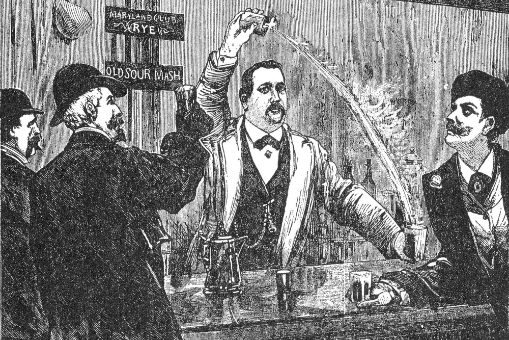 """""""Professor"""" Jerry Thomas, the Father of American Mixology (Photo: The British Library)"""