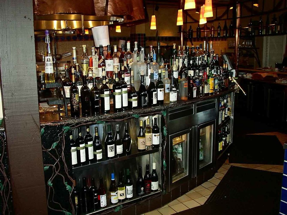 Wine Spectator Restaurant Culinary Institute of America cabinet design St. Helena, CA Project Architect: Heiland Hoff A.I.A. (While employed by another architecture firm)