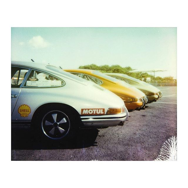 Timeless.  #911 #porsche #polaroid