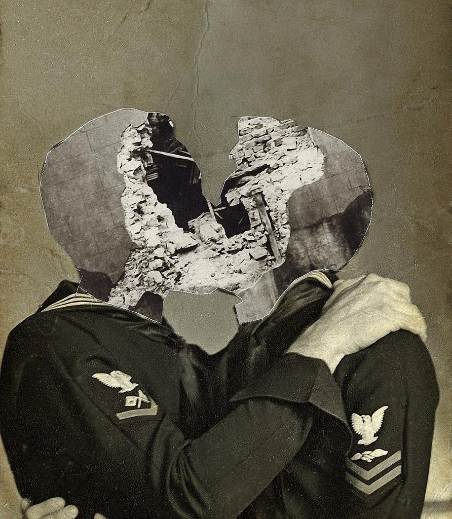 2headedsnake: Franz Falckenhaus 'Kiss'