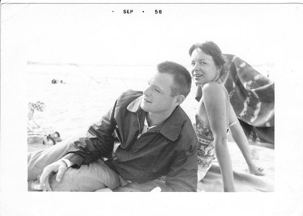 true vintage… stumbled on this photos of the g'rents! Wear Art. Support Artists.