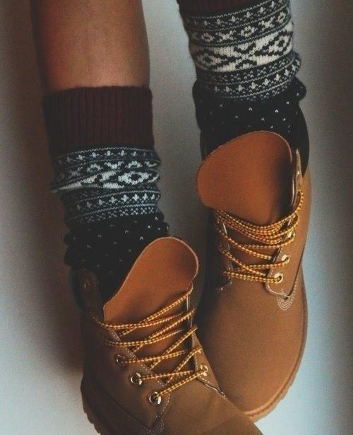 Booties booties rockin all… those socks. follow for indie+fashion+art+wanderlust