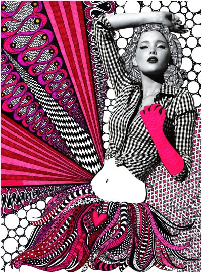 LOVE. nikki farquharson mixed media Follow for Art+Indie+Wanderlust+Fashion.