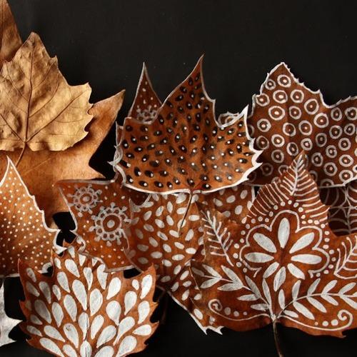 Leafy.