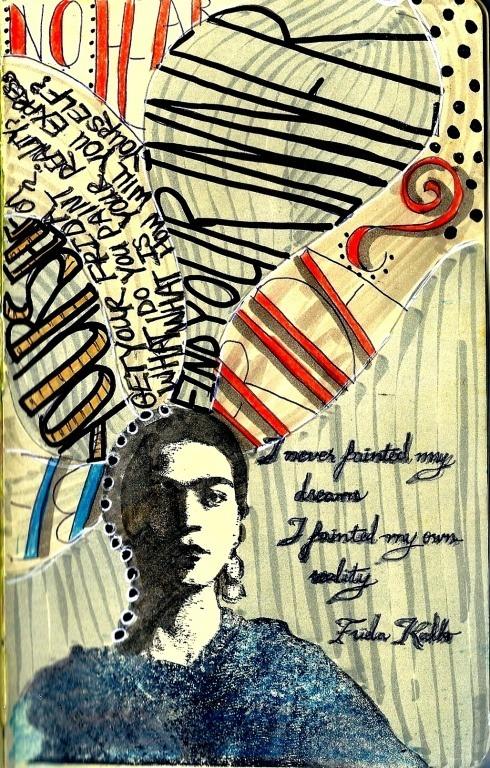 Frida. Follow for art+indie+wanderlust+fashion