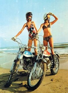 Ride, girls, ride.