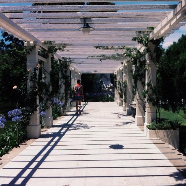 A lovely stroll through the rose garden. #travegram #southamerica #artfulventure (at El Rosedal)