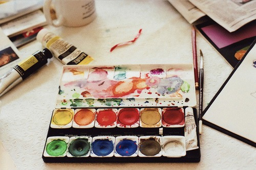watercolor me crazy follow for wanderlust + indie + art + fashion