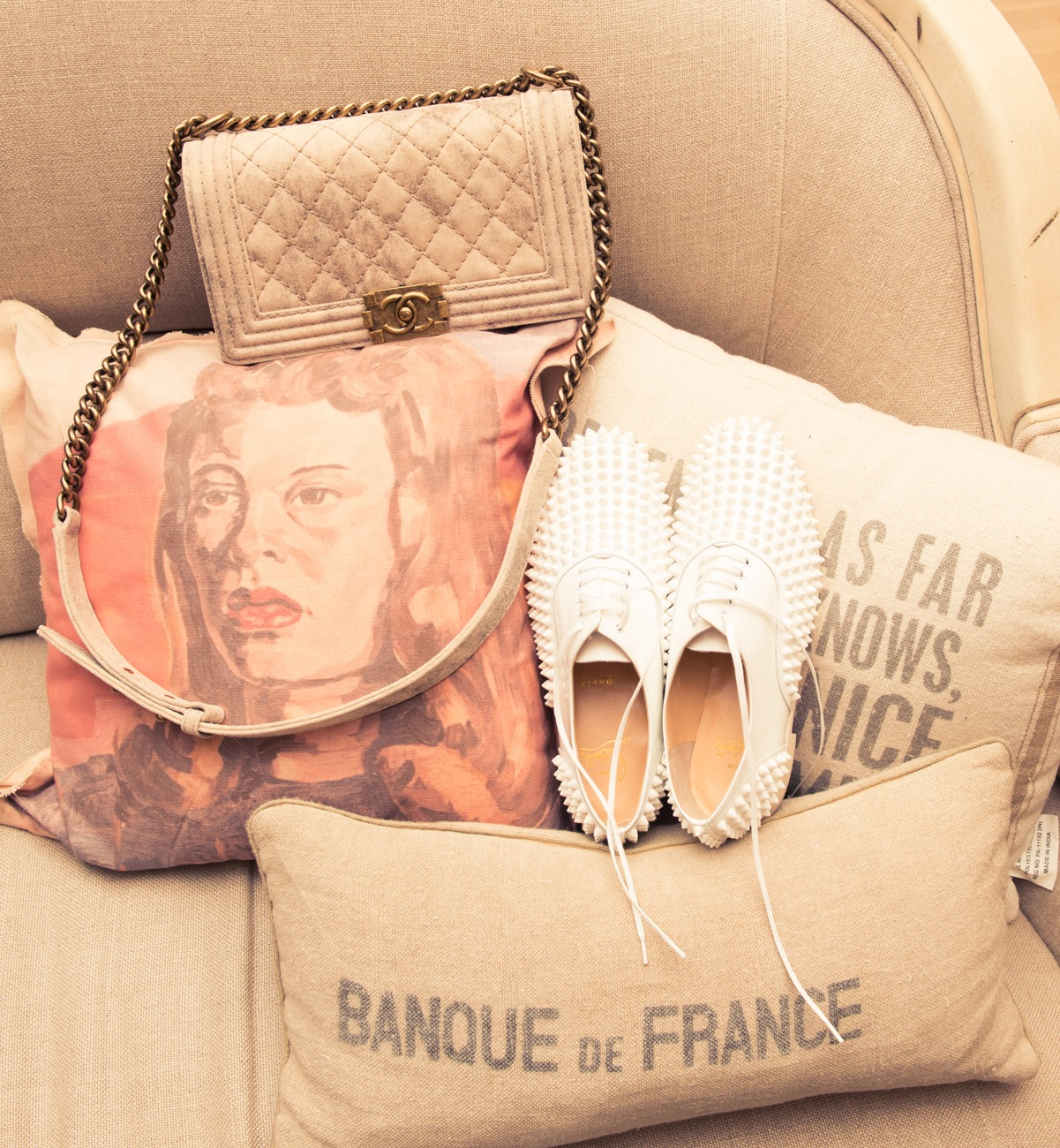 thecoveteur: Can you handle this CHANEL & Christian Louboutin collection? Because we kind of can't.