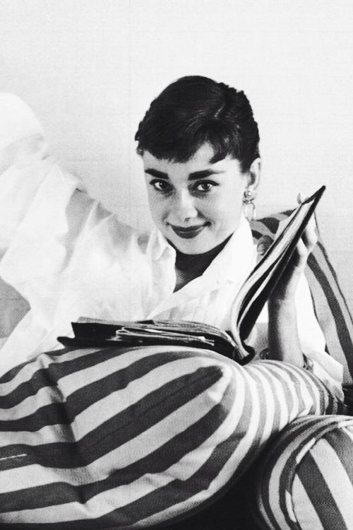 Audrey Hepburn by Mark Shaw, 1953