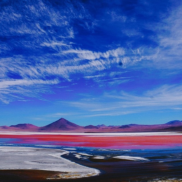 To celebrate #earthday, we had to share our favorite spot that we've experienced so far on this incredible planet: Laguna Colorada. #ArtfulEarth