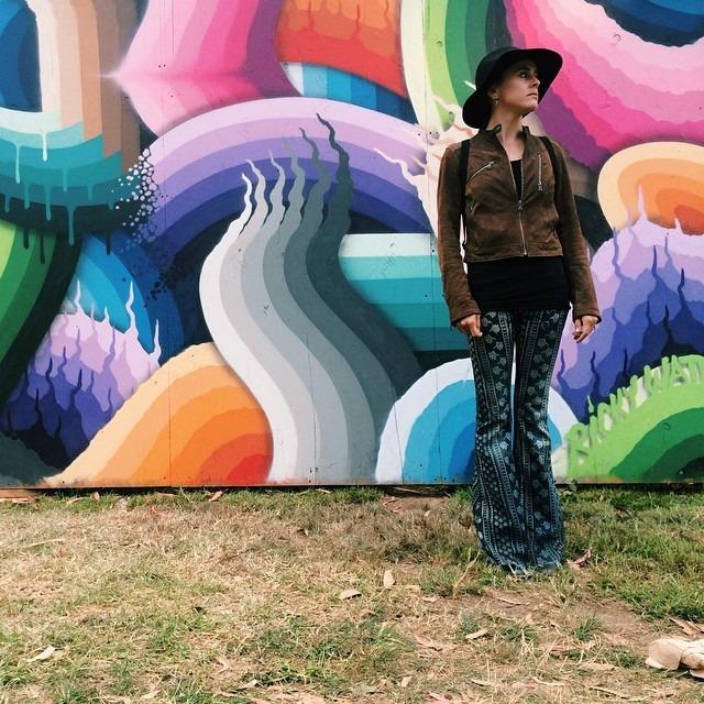 Art-ing around at Outside Lands. #myartfulventure (at Outside Lands Music Festival)