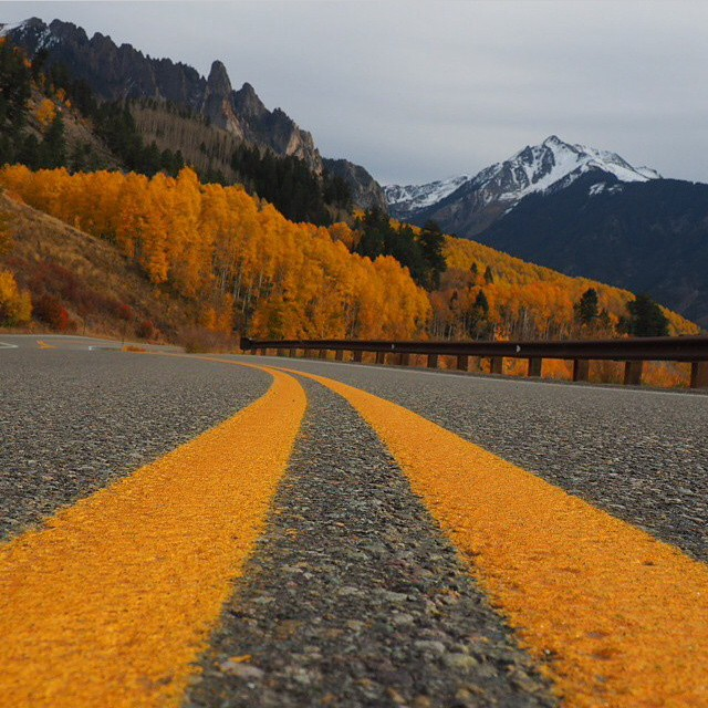 Fall roadtrippin' vibes from @liamgreven #artfulventure