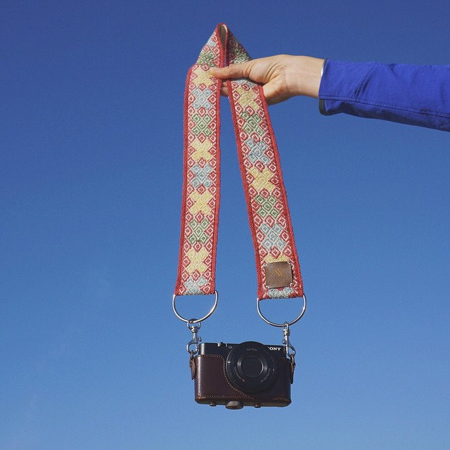 Big blue skies and snazzy straps. Get em' in our store! ArtfulVenture.com