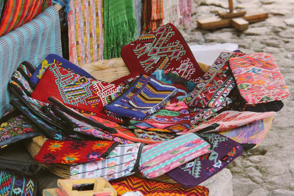 Wear Art. Support Artists.   Shop Textile Clutches