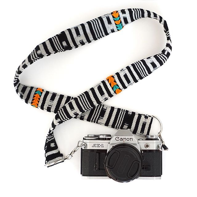 Last chance for this Guatemalan handwoven camera strap! $22 (org. $32), link in profile. We'll get it to you by the holidays if you order today.