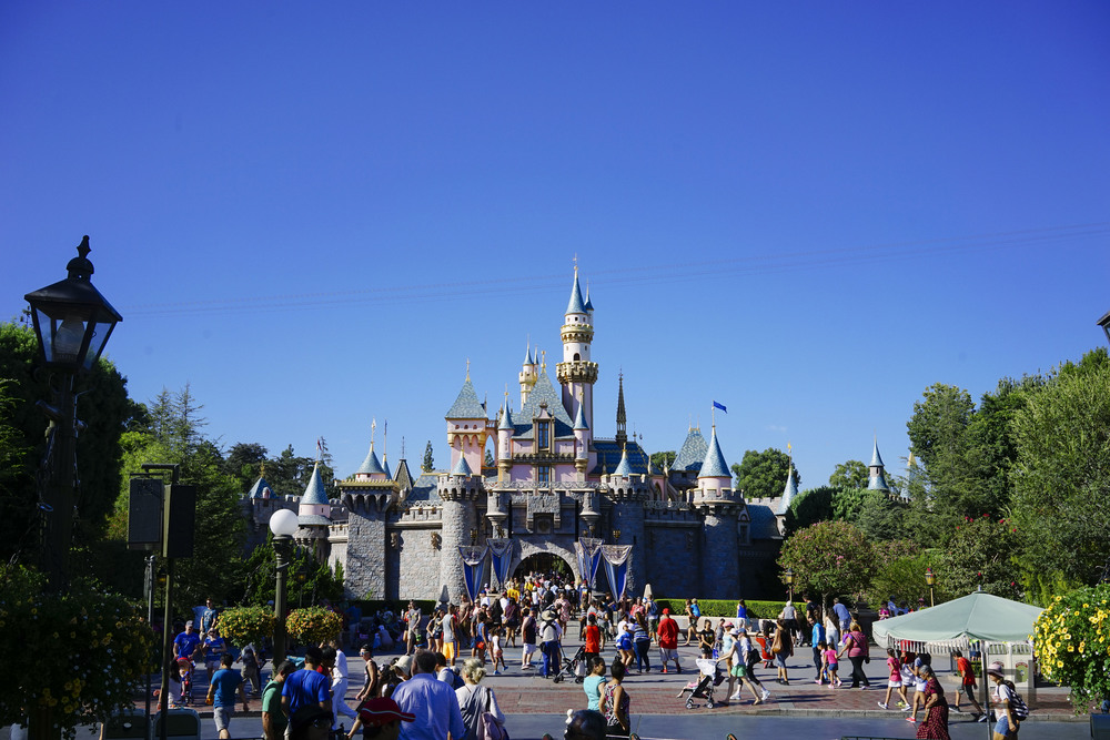 There's just something about Sleep Beauty's Castle