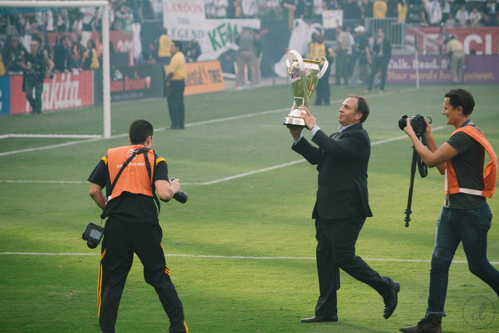 Bruce Arenas - MLS Cup