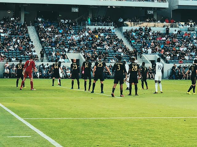 3 more points. // @lafc v @philaunion // #lafc #lafcoriginal #soccerforall #lafcpride #mls