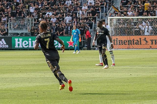 I know @latifblessing is ready for tonight. // @lafc v @timbersfc // @bancofcaliforniastadium @lafc3252 // #lafc #lafcvpor #mls #soccer #lafcoriginal #football #futbol #usopencup //