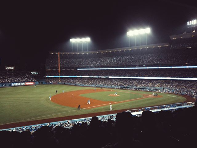 @Dodgers at #DodgerStadium. #MLB #baseball