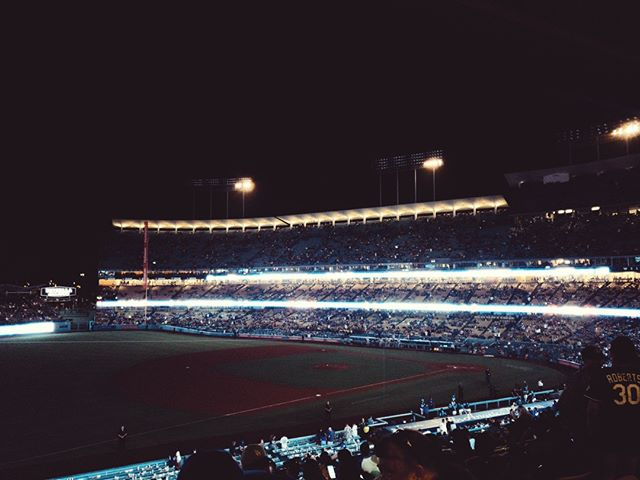 Blackout LA #Dodgers