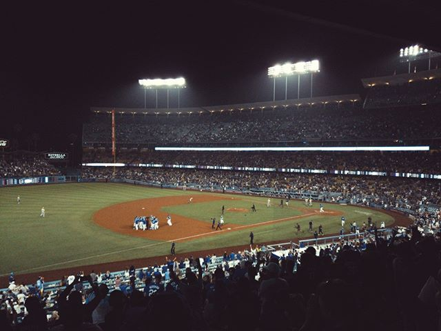 Walk off. #Dodgers