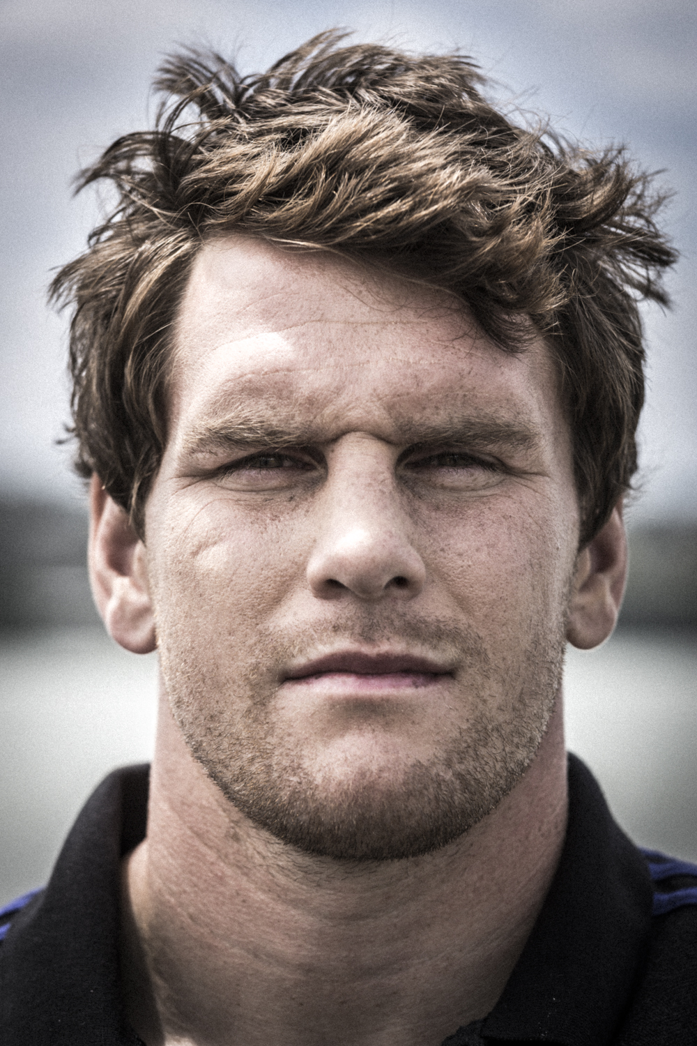 Matt Todd, All Blacks fetcher, photographed by Spid