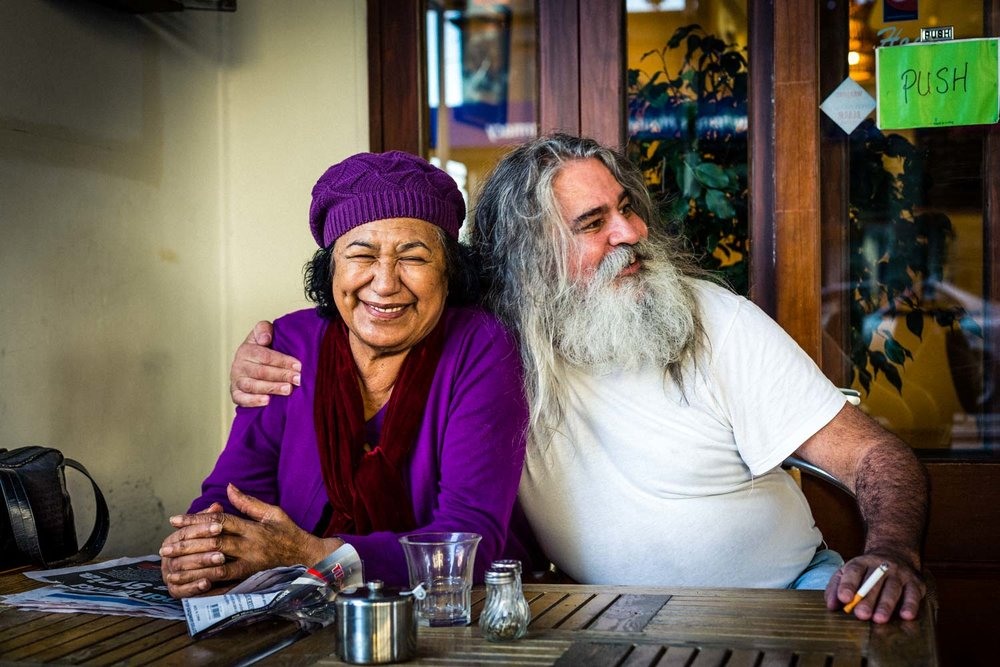 Puhoi Pub Custodian & Wife