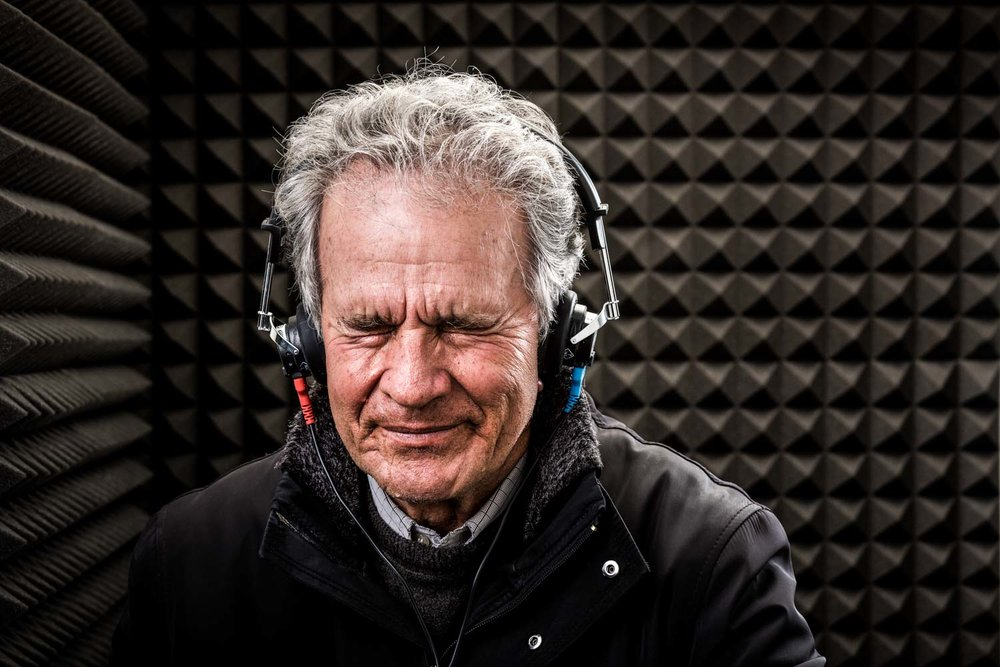 60 year old man gets hearing test - bay audiology campaign-Spid Pye.jpg