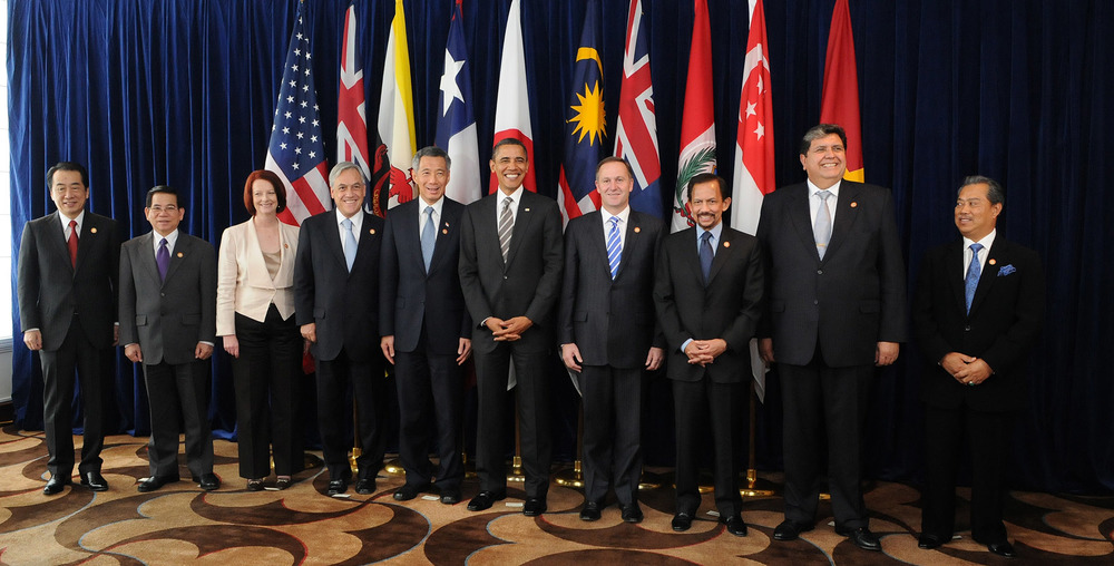 Leaders of the TPP Member States - Image via commons.wikimedia.org