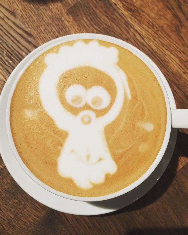 #coffee#artwork#babylatteart#cappuccino