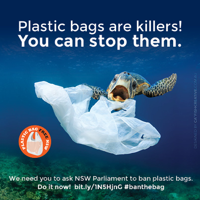 Don't forget to hashtag #banthebag