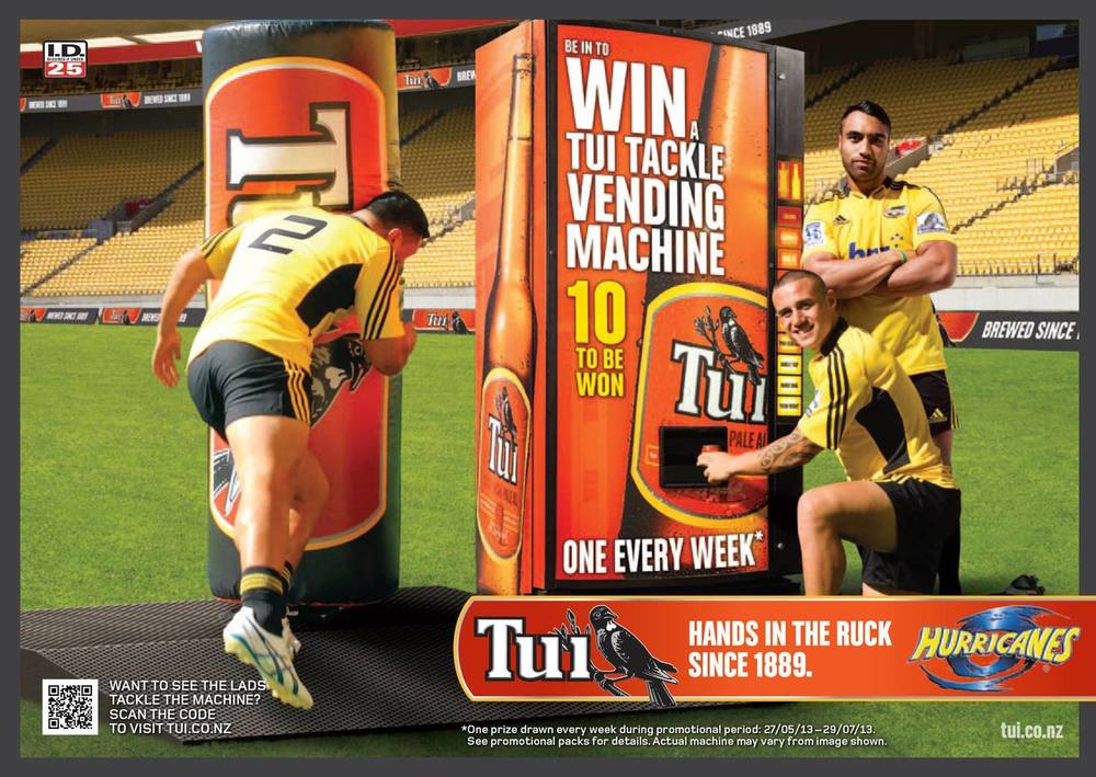 Tui/ Hurricanes Billboard