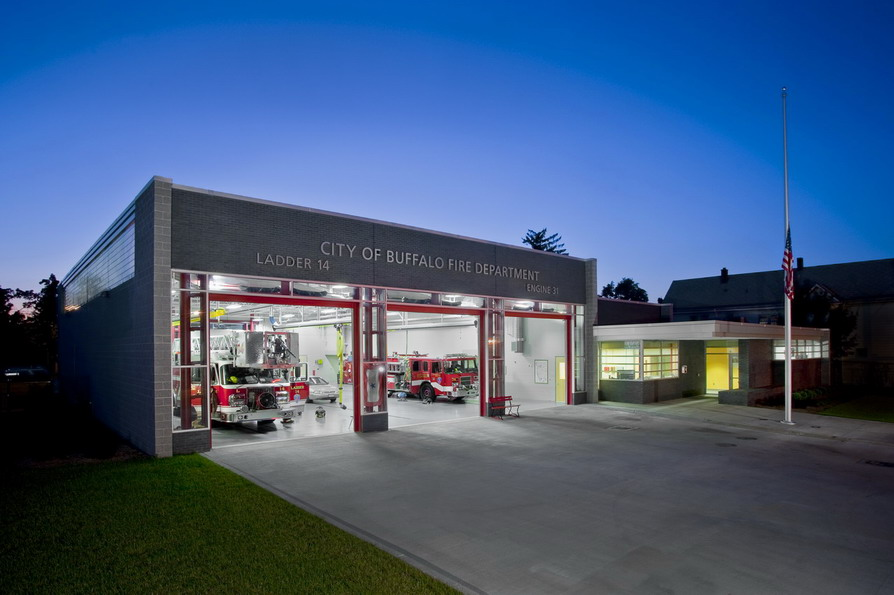 Bailey Genesee Fire Station